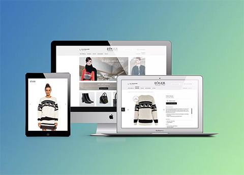 Magento Shop-Design